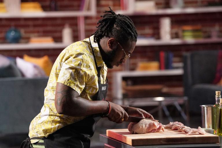 "MASTERCHEF: Contestant Wutu in the ""The Blind Chicken Show"" episode of MASTERCHEF airing Thursday, June 20 (8:00-9:00 PM ET/PT) on FOX.  © 2019 FOX MEDIA LLC. CR: Greg Gayne/ FOX"